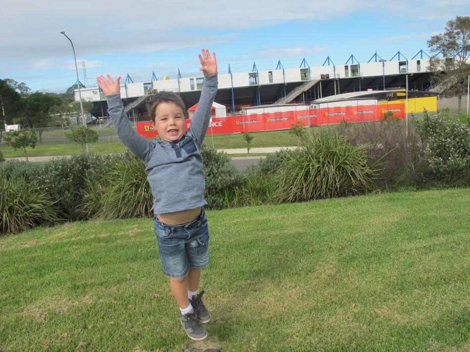 Plenty for the kids at Sydney Motorsport Park