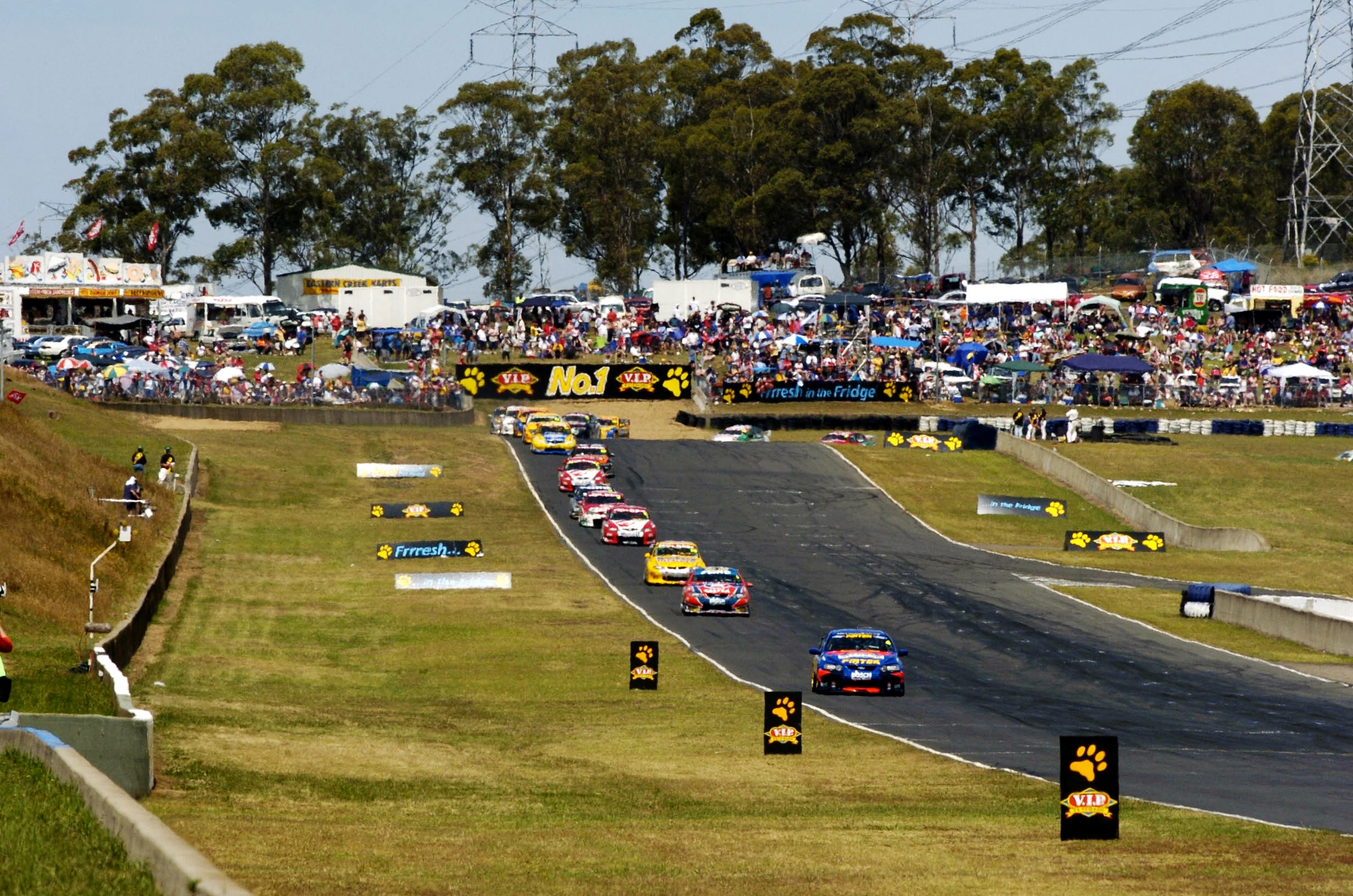 V8 Supercars at Sydney Motorsport Park